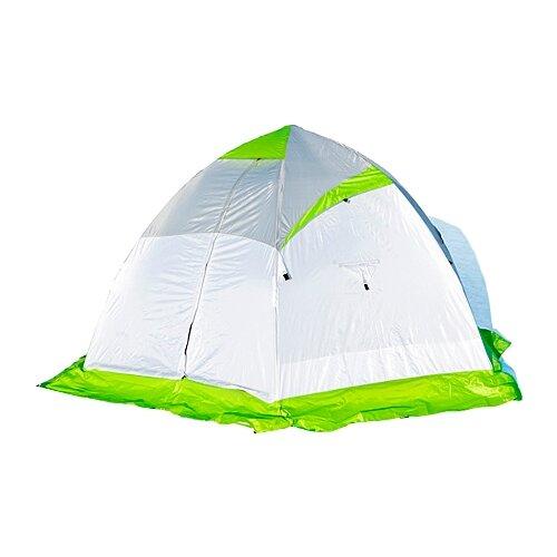 Палатка ЛОТОС 4 для рыбалки зеленый/белый