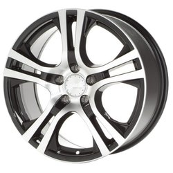 Колесные диски Platin P53 6x15/4x100 D63.3 ET38 Black Polished