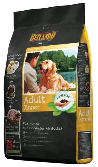 Belcando Adult Dinner для собак средних и крупных пород с нормальным уровнем активности (25 кг)