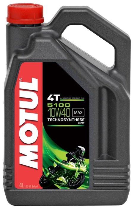 Моторное масло Motul 5100 4T 10W40 4 л — купить и выбрать из более, чем 13 предложений по выгодной цене на Яндекс.Маркете