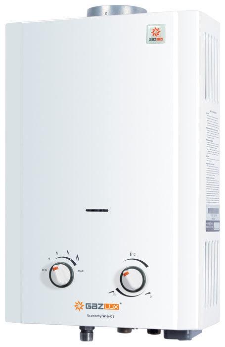 Проточный водонагреватель Gazlux Economy W-6-C1 (101001)