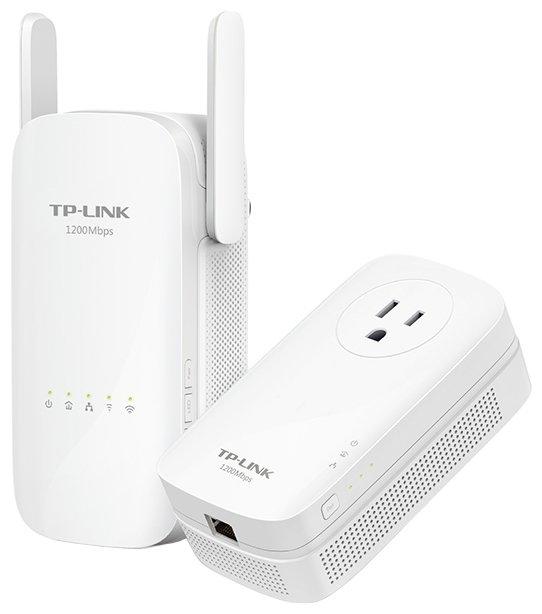 TP-LINK Wi-Fi+Powerline адаптер TP-LINK TL-WPA8630 KIT