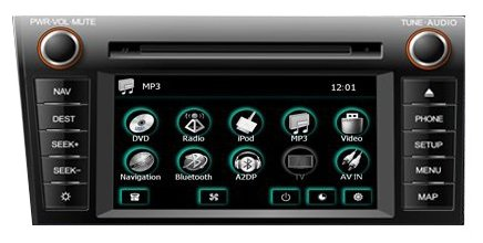 FlyAudio 66090B01 Toyota Tundra