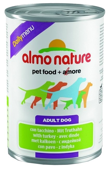 Корм для собак Almo Nature Daily Menu индейка 400г
