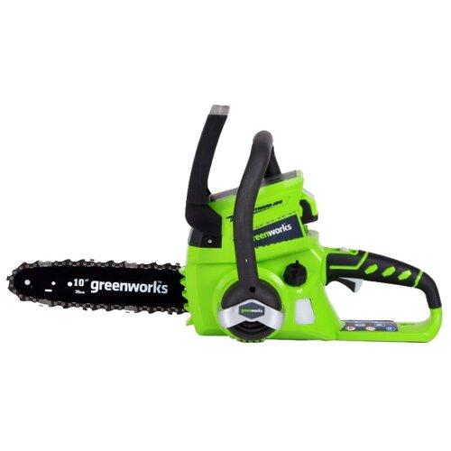 цена на Цепная электрическая пила greenworks G24CS25 2.0Ah x1