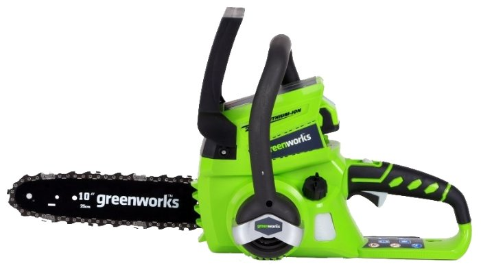 Цепная электрическая пила greenworks G24CS25 0