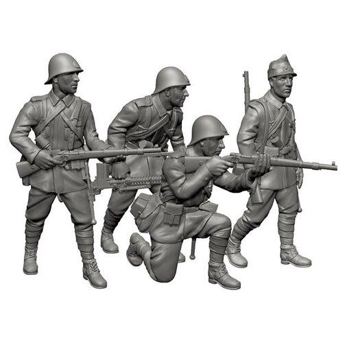 Фото - Сборная модель ZVEZDA Румынская пехота (6163) 1:72 сборная модель zvezda немецкая пехота в зимней форме 1941 1945 6198 1 72
