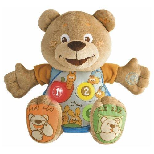 цена на Интерактивная развивающая игрушка Chicco Говорящий мишка Teddy
