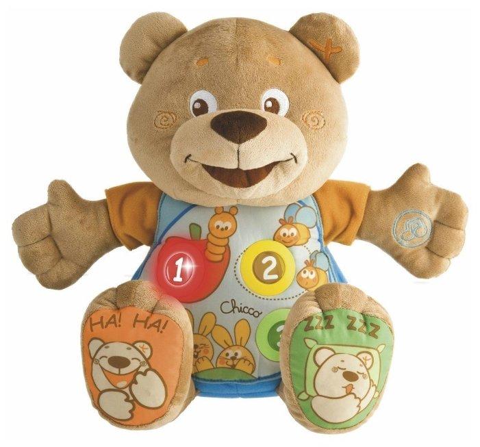Интерактивная развивающая игрушка Chicco Говорящий мишка Teddy