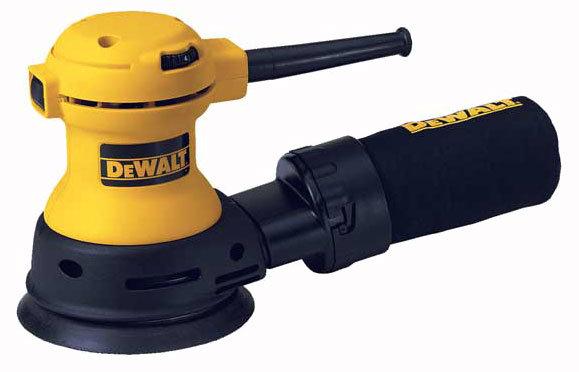 Эксцентриковая шлифмашина DeWALT DW423
