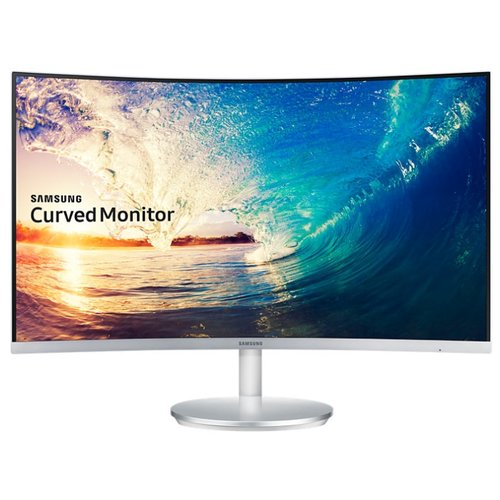 Монитор Samsung C27F591FDI 27 серебристый монитор samsung s27e391h 27 белый и голубой [ls27e391hsx ci]