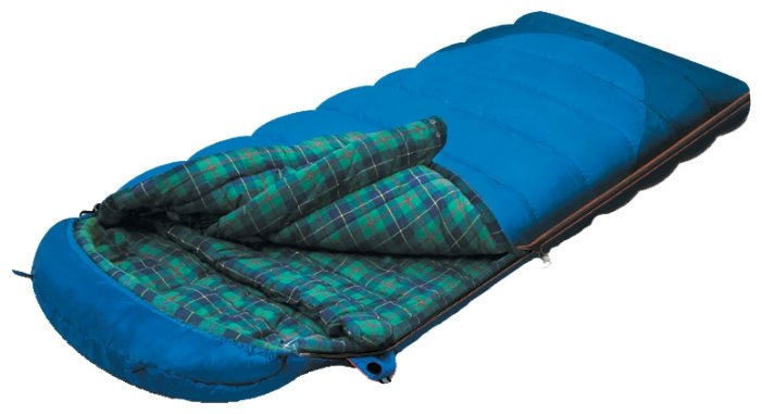 Мешок спальный Alexika TUNDRA Plus, левый синий