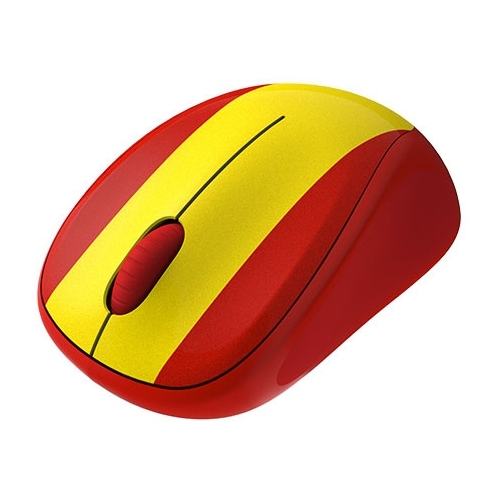 Мышь Logitech Wireless Mouse M235 910-004028 Red-Yellow USB