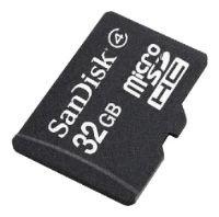SanDisk microSDHC Card 32GB Class 4
