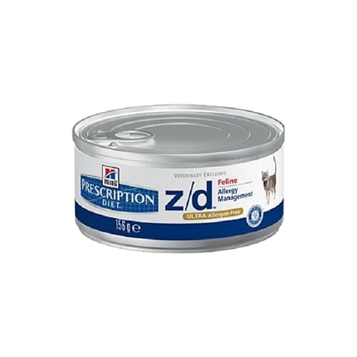 Корм для кошек Hill's (0.156 кг) 12 шт. Prescription Diet Z/D Feline Allergy Management canned