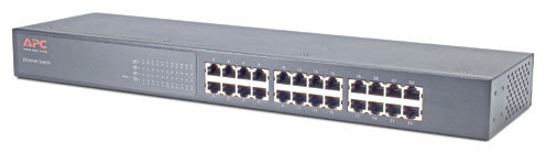APC by Schneider Electric Коммутатор APC by Schneider Electric 24 Port 10/100 Switch