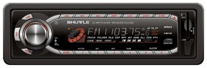 Автомагнитола Shuttle SCD-460