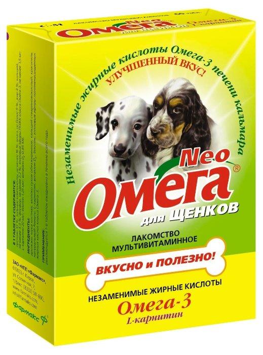 Лакомство для собак Омега Neo для щенков с L-карнитином