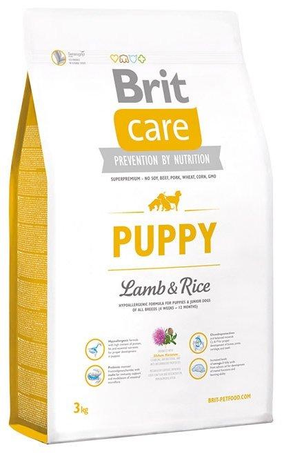 Корм для собак Brit Care Puppy Lamb & Rice