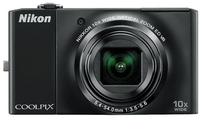 Дисплей Nikon S8000