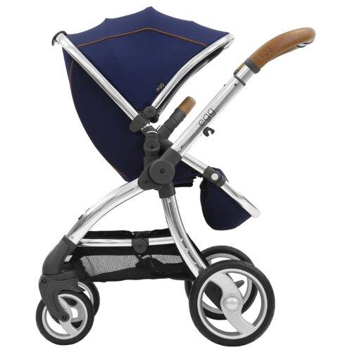 Прогулочная коляска EGG Egg Stroller regal navy/mirror chassis, цвет шасси: серебристый