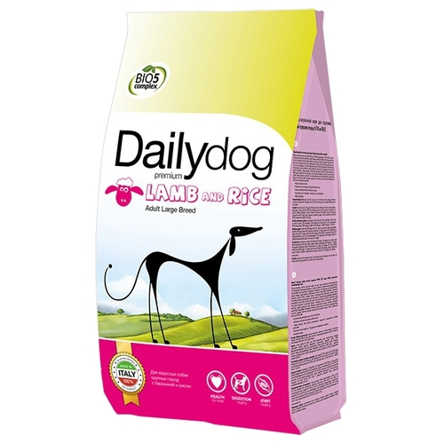 Dailydog Adult Large Breed lamb and rice (20 кг) Корма для собак