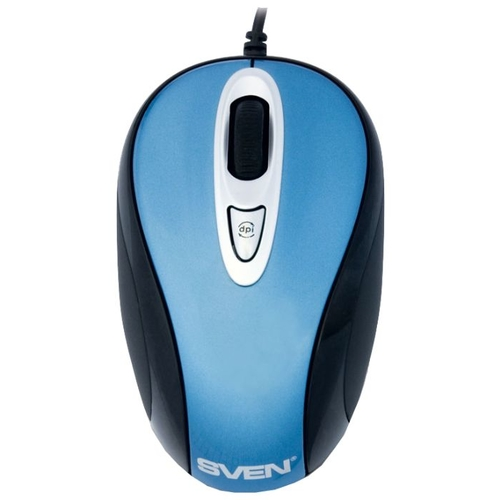 Мышь SVEN RX-530 Blue-Black USB
