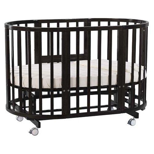 Купить Кроватка Nuovita Nido Magia 5 в 1 (трансформер), поперечный маятник венге, Кроватки