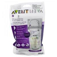 Philips AVENT  Пакеты для хранения грудного молока 180 мл...