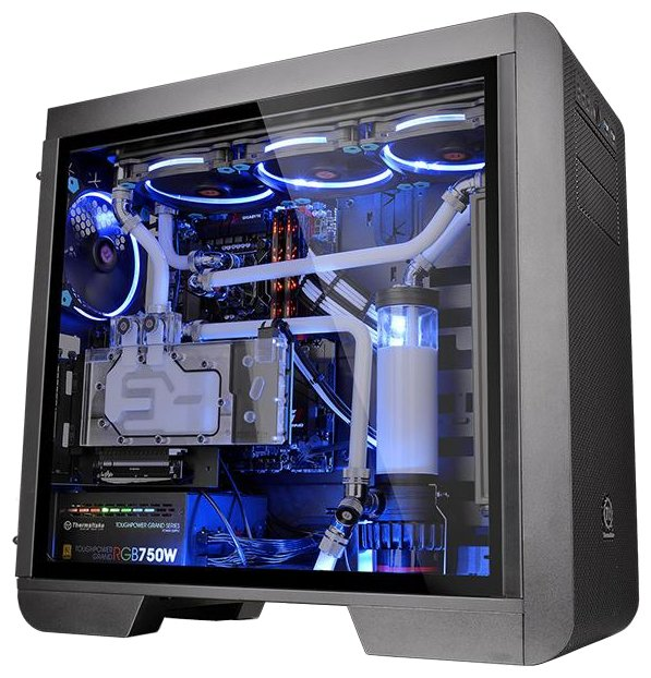 Компьютерный корпус Thermaltake Core V51 TG CA-1C6-00M1WN-03 Black