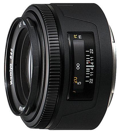 Объектив Mamiya AF 80 mm f/2.8 M645