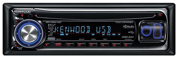 KENWOOD KDC-MP408U