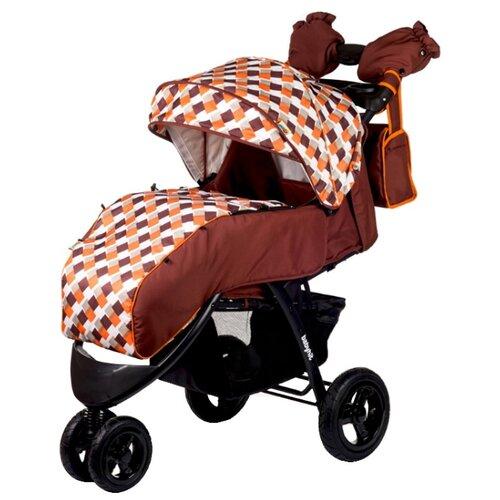 Прогулочная коляска Babyhit Voyage Air коричневый/оранжевыйКоляски<br>
