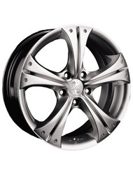 Racing Wheels H-253 7x16 5x112 ET 40 Dia 66.6 HS HP - фото 1