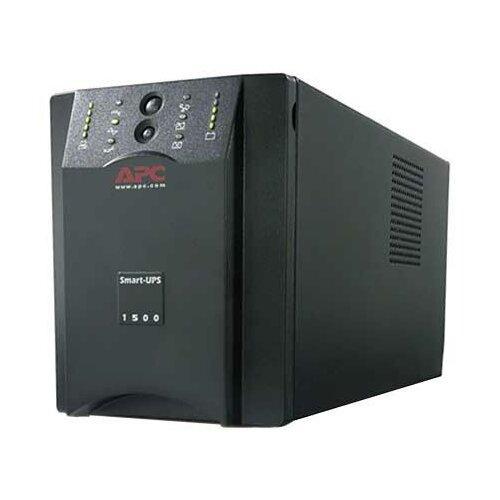 Интерактивный ИБП APC by Schneider Electric Smart-UPS SUA1500I черный