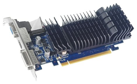 ASUS GeForce 210 589Mhz PCI-E 2.0 512Mb 1200Mhz 32 bit DVI HDMI HDCP