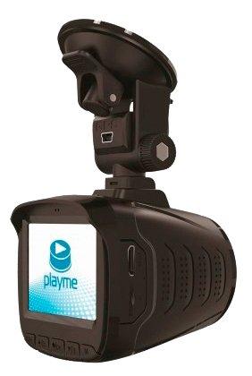 Видеорегистратор с радар-детектором Playme P350 TETRA--