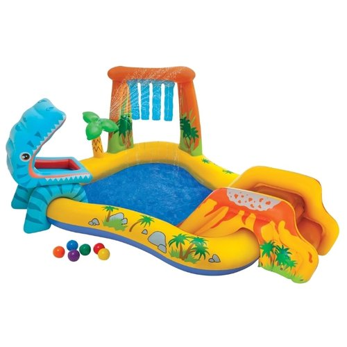 Фото - Игровой центр Intex Dinosaur Play Center 57444 бассейн intex 57444