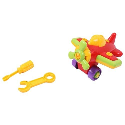 Конструктор Joy Toy Собирайка 1274 Самолет трансформер joy toy бомбардир