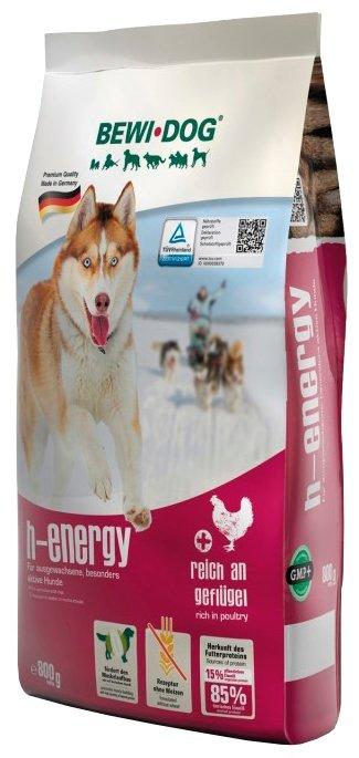Корм для собак Bewi Dog H-energy rich in Poultry для собак с повышенной активностью (0.8 кг)