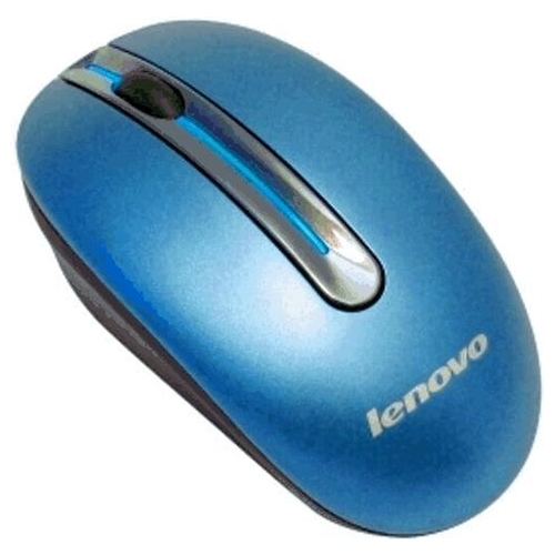 Мышь Lenovo Wireless Mouse N3903A Blue USB