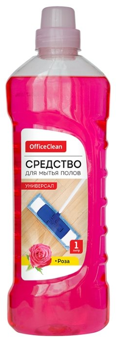 OfficeClean Средство для мытья полов Роза