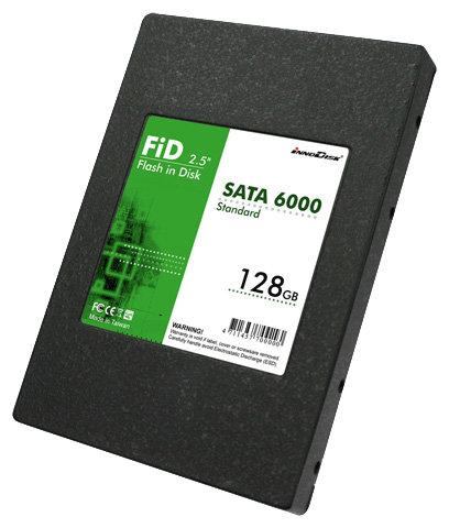 Твердотельный накопитель InnoDisk SATA 6000 128Gb
