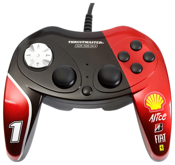 Thrustmaster Геймпад Thrustmaster F1 Dual Analog Ferrari F60 Exclusive Edition