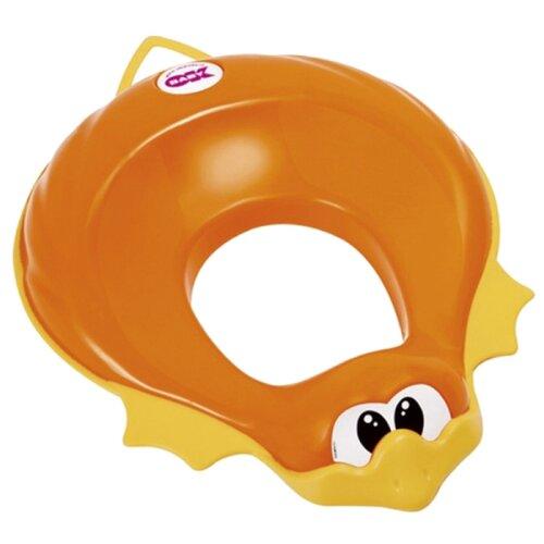 цена на Baby Ok сиденье Ducka оранжевый