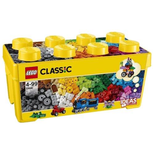 Купить Конструктор LEGO Classic 10696 Средняя коробка творческих кирпичиков, Конструкторы