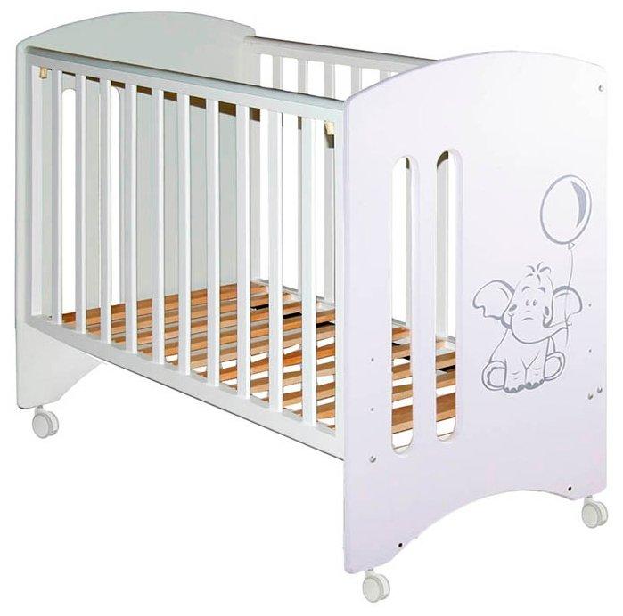 Кроватка Можгинский лесокомбинат Софи (колеса)
