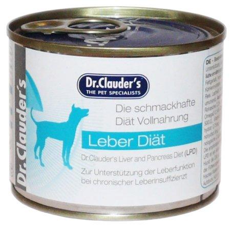 Корм для собак Dr. Clauder's Liver diet консервы для собак при заболеваниях печени (0.2 кг) 1 шт.