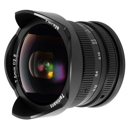 Фото - Объектив 7artisans 7.5mm f/2.8 Micro 4/3 черный объектив 7artisans 50mm f 1 05 canon rf черный