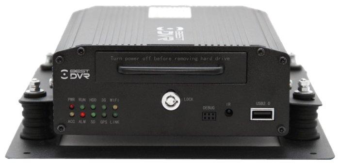 Видеорегистратор цифровой автомобильный 4 канальный BestDVR-407Mobile HDD-02
